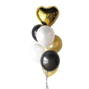 Classic Gold Latex Balloon