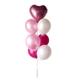 Pink Lara Latex Balloon