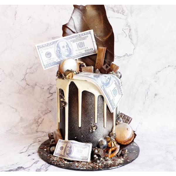 Money Theme Cake