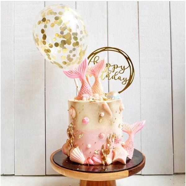 Pink Party Mermaid Cake